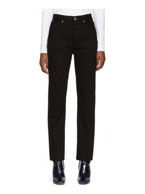 GOLDSIGN black the benefit high rise jeans