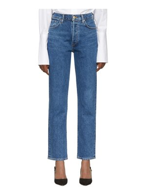 GOLDSIGN blue the benefit high rise jeans