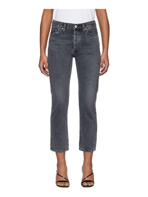 GOLDSIGN grey the low slung jeans
