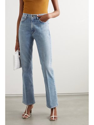 GOLDSIGN net sustain high-rise bootcut jeans