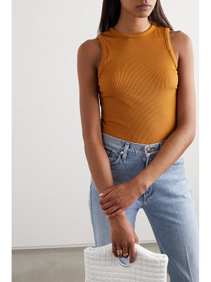 GOLDSIGN net sustain ribbed stretch-jersey tank