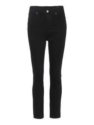GOLDSIGN the high-rise slim-straight jeans