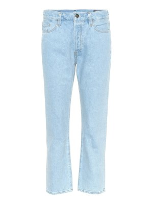 GOLDSIGN the low slung straight jeans