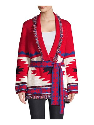 Gone With The West Fringe Wrap Sweater