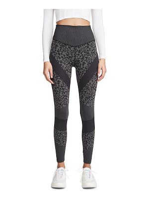 Good American Active leopard seamless leggings