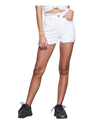 GOOD AMERICAN bombshell high waist shorts