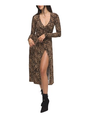 GOOD AMERICAN DayNight Printed Wrap Dress - Inclusive Sizing