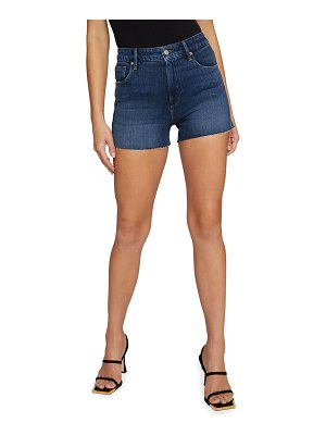 GOOD AMERICAN Denim Cutoff Shorts - Inclusive Sizing