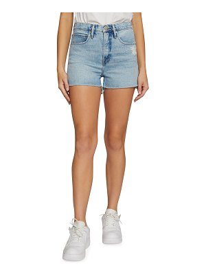 GOOD AMERICAN Good 90s High-Rise Shorts - Inclusive Sizing
