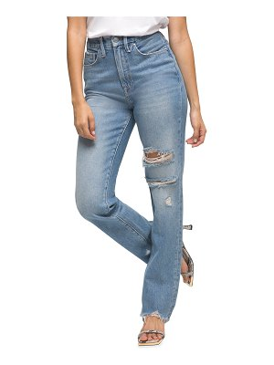 GOOD AMERICAN Good Boy High-Rise Jeans - Inclusive Sizing