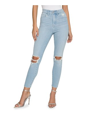 GOOD AMERICAN Good Waist Cropped Skinny Jeans - Inclusive Sizing