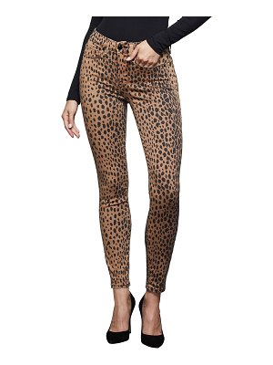 GOOD AMERICAN Good Waist Printed Ankle Skinny Jeans - Inclusive Sizing
