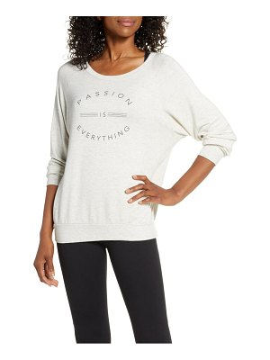 GOOD HYOUMAN passion graphic pullover
