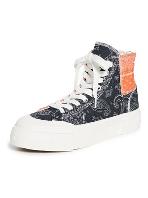 Good News palm paisley sneakers