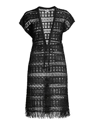Gottex Swim crochet cover-up dress