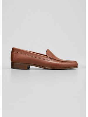 Gravati Metallic Leather Venetian Loafer