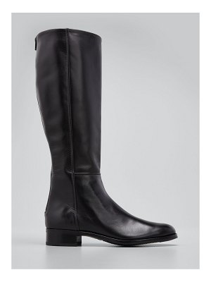 Gravati Tall Leather Zip Riding Boots