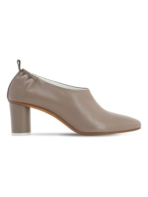 Gray Matters 60mm micol leather pumps