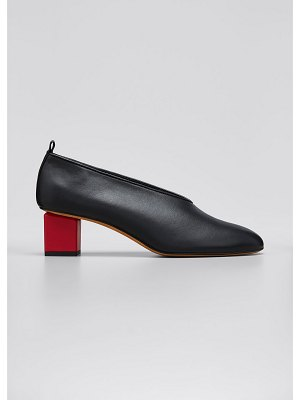 Gray Matters Mildred Classica Leather Pumps
