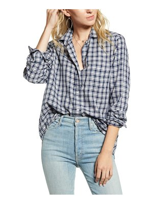 GRAYSON the hero plaid button-up shirt
