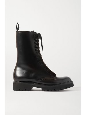 Grenson 13 eye chromexcel leather ankle boots
