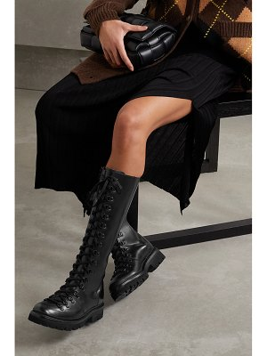 Grenson nanette high leather knee boots