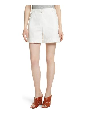 Grey Jason Wu stretch cotton sailor shorts
