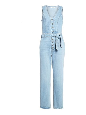GRLFRND amaya ankle denim jumpsuit