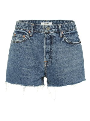 GRLFRND cindy high-rise denim shorts