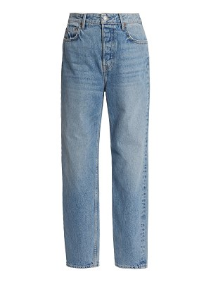 GRLFRND Denim devon rigid high-rise straight-leg jeans