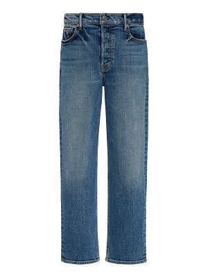GRLFRND Denim helena comfort stretch high-rise straight-leg jeans