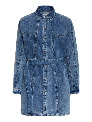 GRLFRND Denim kiko studded denim shirt dress
