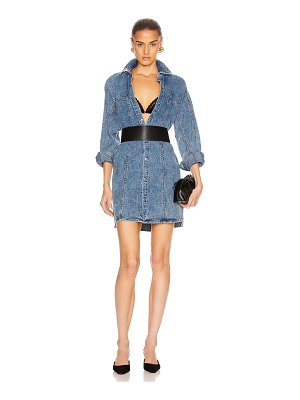 GRLFRND kiko studded shirt dress