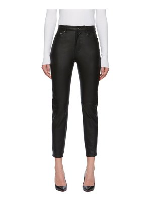GRLFRND leather shiloh trousers