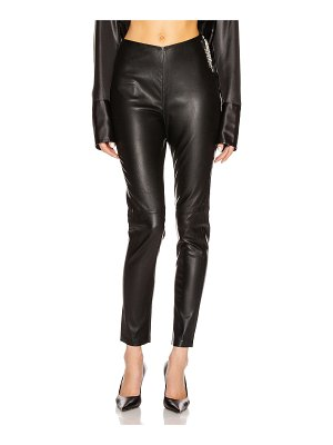 GRLFRND maci leather legging