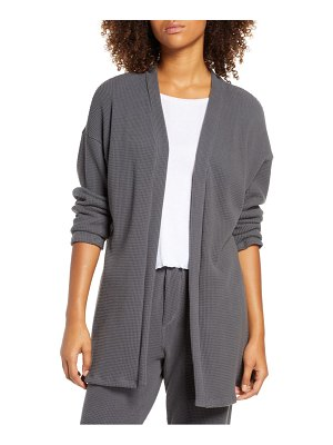 Groceries Apparel bella organic cotton thermal cardigan