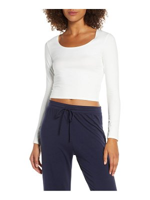 Groceries Apparel lola stretch organic cotton crop top