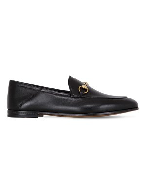 Gucci 10mm brixton leather loafers