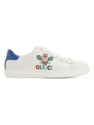 Gucci 10mm new ace leather sneakers