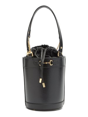 Gucci 1955 horsebit leather bucket bag