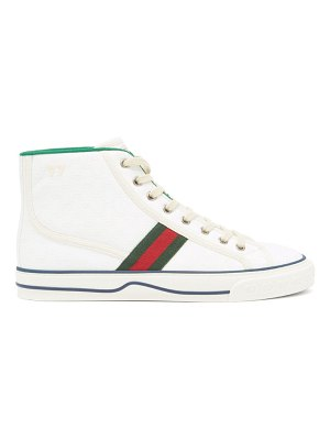 Gucci 1977 gg-jacquard canvas high-top trainers
