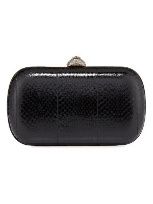 Gucci Broadway Snakeskin Butterfly Clutch Bag