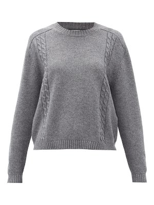 Gucci cable-knit wool sweater