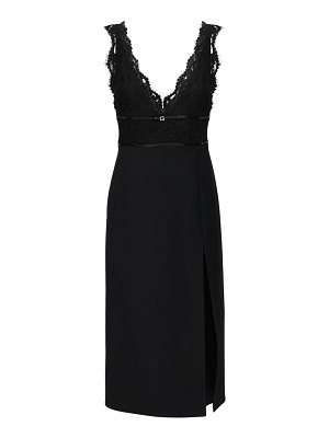 Gucci Cady & lace midi dress