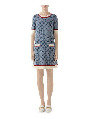 Gucci Crewneck Knit Dress