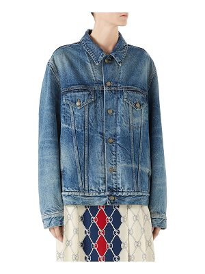 Gucci Denim Jacket with Applique