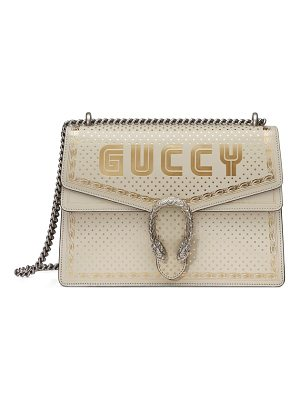 Gucci dionysus moon & stars leather shoulder bag