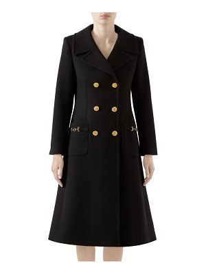 Gucci double breasted wool coat