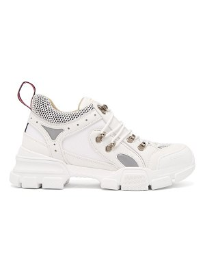 Gucci flashtrek leather trainers