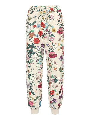 Gucci floral-printed jersey trackpants